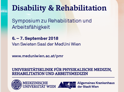 "2. Kongress ""Disability & Rehabilitation"""