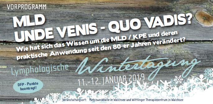 Walchseer Lymphologische Wintertagung